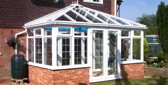 Clean UPVC Conservatory